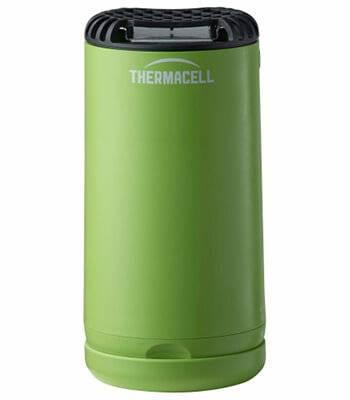 Отпугиватель комаров ThermaCELL Halo Mini Repeller Green (+ 1 газовый картридж и 3 пластины)